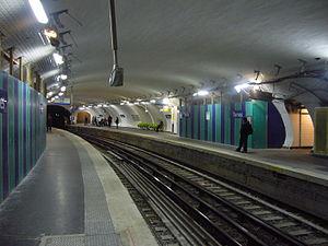 Ternes (Paris Métro) - Image: Ternes Travaux