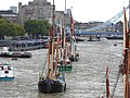 Thames barge parade - in the Pool 6734.JPG