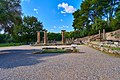 The Altar of Hera and the Temple of Hera in Olympia on October 14, 2020.jpg