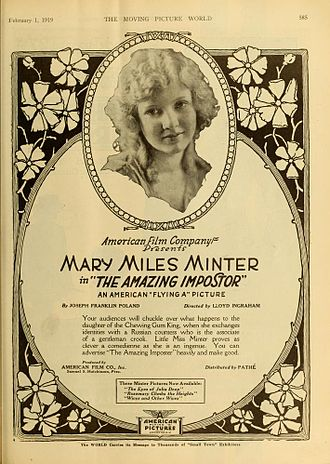 Mary Miles Minter - The Amazing Impostor (1919)