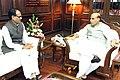 The Chief Minister of Madhya Pradesh, Shri Shivraj Singh Chouhan calling on the Union Home Minister, Shri Rajnath Singh, in New Delhi on July 07, 2014.jpg