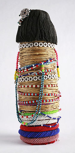 The Childrens Museum of Indianapolis - Ntwana beaded doll.jpg