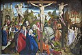 The Crucifixion by The Dreux Budé Master, possibly André d'Ypres, Getty Center.JPG