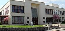 The Dalles High School entrance.jpg
