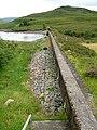 The Dam on Loch Bad an Sgalaig - geograph.org.uk - 218236.jpg
