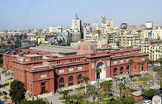 History museum in Cairo, Egypt