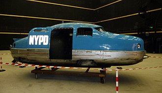 The Fifth Element - One of the models used to portray an NYPD car in the film