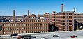 The Foundry and Promenade Apartments, formerly Brown & Sharpe factory, and Interstate 95.jpg