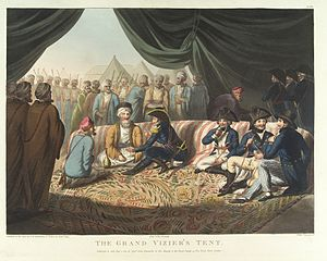 Sidney Smith (Royal Navy officer) - Sir Sidney Smith in the Grand Vizier's Tent, 1799