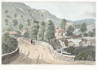 The Llugwy At Pont Y Pair