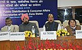 The Minister of State (Independent Charge) for Consumer Affairs, Food and Public Distribution, Professor K.V. Thomas chaired the meeting of the Food Ministers of Northern States to discuss the issues related with Food.jpg