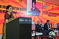 "The Minister of State for Commerce & Industry (Independent Charge), Smt. Nirmala Sitharaman addressing at the Seminar on ""The Global Design and Innovation Branding India Globally"", during the Make in India Week, in Mumbai.jpg"