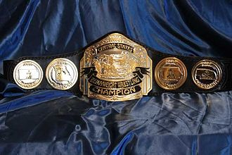 NWA Central States Heavyweight Championship - The NWA Central States Heavyweight Championship belt