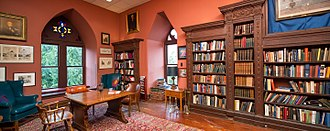 Philomathean Society - known to some members as the William Henry Harrison Presidential Library, all members are given access to the Philomathean Library.