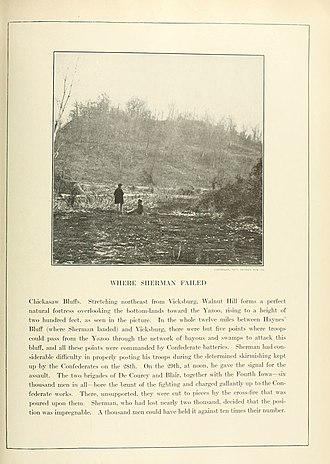 Battle of Chickasaw Bayou - Image: The Photographic History of The Civil War Volume 02 Page 191