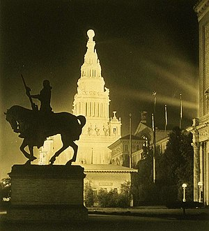 The Pioneer (sculpture) - Image: The Pioneer by Solon Borglum in 1915
