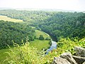 The River Wye passes Coldwell Rocks east of Symonds Yat - geograph.org.uk - 1159.jpg