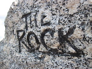 Rockingham Speedway - Image: The Rock at Rockingham Speedway