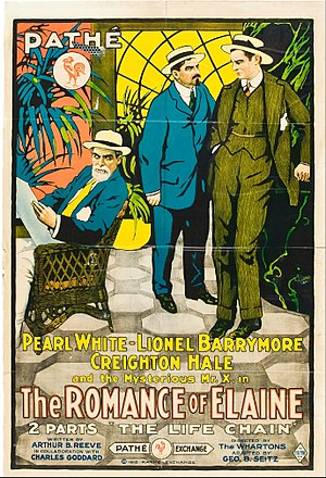 The Romance of Elaine - Film poster