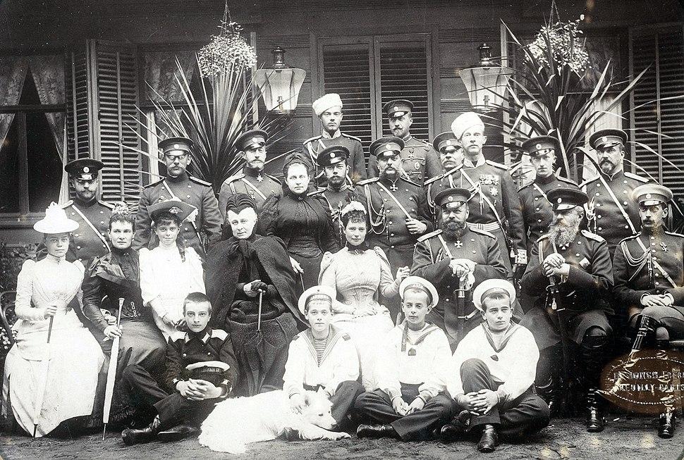 The Romanovs 1892