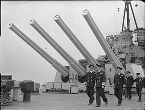 Charles Woodhouse - Captain C H L Woodhouse ( left), HM King George VI (centre) and Admiral Sir John Tovey (right) aboard HMS Howe