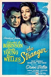 <i>The Stranger</i> (1946 film) 1946 film by Orson Welles