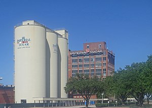 National Register of Historic Places listings in Fort Bend County, Texas - Image: The Sugar Land Refinery in Sugar Land, TX