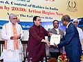 The Union Minister for Health & Family Welfare, Shri J.P. Nadda at the '20th National Conference of Association for Prevention & Control of Rabies in India (APCRICON)', in New Delhi.JPG