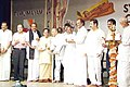 The Union Minister for Information & Broadcasting and Culture, Shri Jaipal Reddy releasing the CD of Ilayaraja's Thiiruvasagam Symphony in Chennai on June 30, 2005.jpg