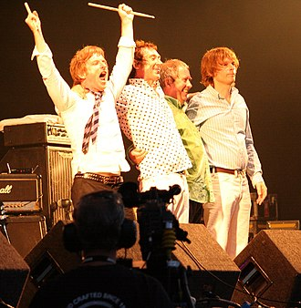 Punk subculture - Buzzcocks at the Cropredy Festival in 2009