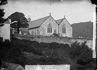 The church, Llanfair Talhaearn