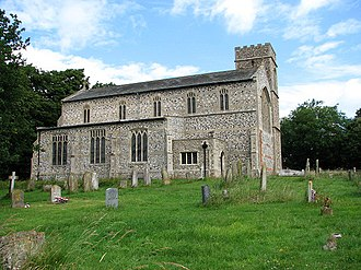 Edgefield, Norfolk - The parish church of SS. Peter and Paul