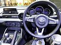 The interior of Mazda ROADSTER S Spacial Package (DBA-ND5RC) with manual transmission.JPG