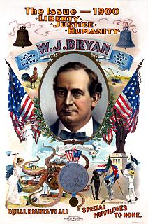 William Jennings Bryan presidential campaign, 1900