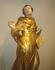 Thomas Aquinas 17th century sculpture