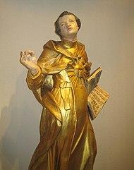 Thomas Aquinas 17th century sculpture