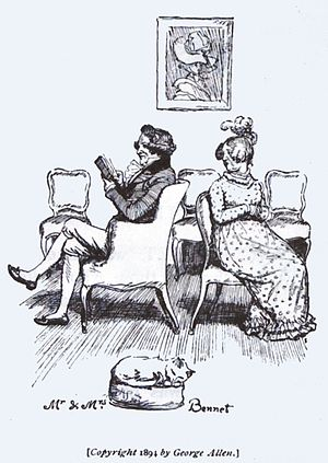 Mr. and Mrs. Bennet. Austen, Jane. Pride and P...