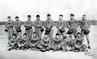 Turlock High School - Image: Ths 1920footballteam