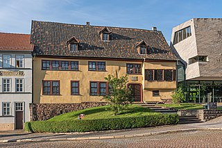 Bach House (Eisenach) Music museum, biographical museum, memorial site in Thuringia, Germany