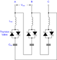 Thyristor Switched Capacitor circuit.png