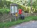 Tidenham Parish sign and postbox - geograph.org.uk - 838821.jpg