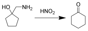 The Tiffeneau–Demjanov rearrangement