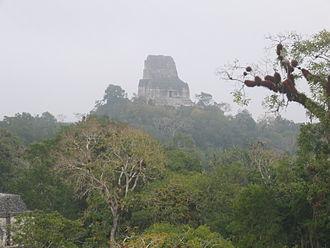 Tikal Temple IV - Temple IV at Tikal