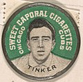 Tinker, Chicago Cubs (green), from the Domino Discs series (PX7), issued by Kinney Brothers MET DP869091.jpg