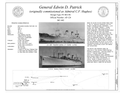 Title Sheet - General Edwin D. Patrick, Suisun Bay Reserve Fleet, Benicia, Solano County, CA HAER CA-344 (sheet 1 of 8).png