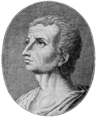Vascones - Portrait of Livy, the author of the first known document about the Vascones.
