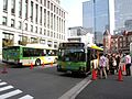 Tobus L-X273 Gift Show Shuttle at Tokyo Station.jpg