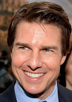 Tom Cruise på premiären av Edge of Tomorrow i  maj 2014.