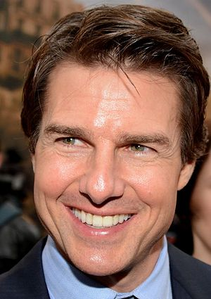 Tom Cruise - Cruise in Paris at the French premiere of Edge of Tomorrow, May 2014.