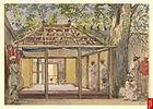 Tomb of Aurangzeb at Khuldabad, Aurangabad, 1850s